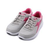 DIADORA EAGLE 4 輕量跑鞋 灰粉 1768943916 女鞋