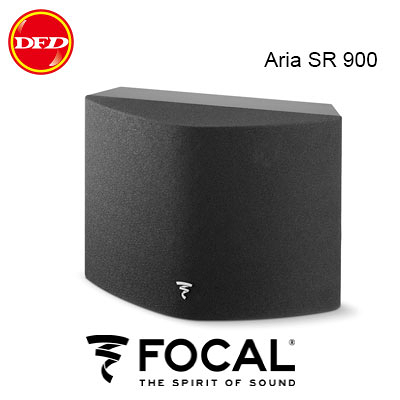 (促銷) 法國 Focal ARIA 900系列 ARIA SR900 2音路側面發聲式 Black HG (一對)