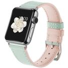 錶帶 適用于apple watch7表帶真皮蘋果手表帶iwatch6/3/4代5創意皮質