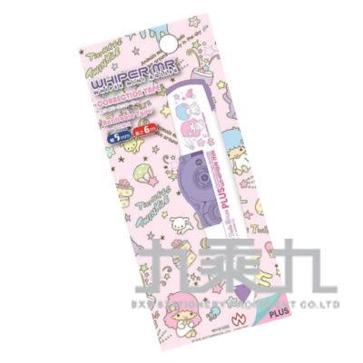 【九乘九購物網】日本限定版 PLUS MR三麗鷗正帶-雙子星