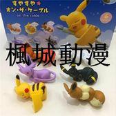 楓城動漫神奇寶貝寵物小精靈6款茶杯小精靈盒蛋公仔擺件玩具模型