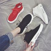 超火的運動鞋女韓版夏季透氣彈力襪子原宿休閒鞋百搭潮 麥吉良品