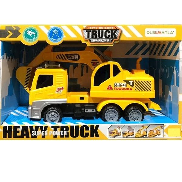 HEAVY TRUCK SUPER POWER 工程挖土機 TOYeGO 玩具e哥