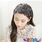 髮箍遮白髮髮箍韓國寬邊蕾絲顯臉小的髮卡髮飾民族風刺繡頭箍髮帶頭飾 寶貝 新品