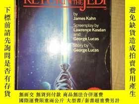 二手書博民逛書店D7罕見RETURN OF THE JEDI 外文原版Y1665