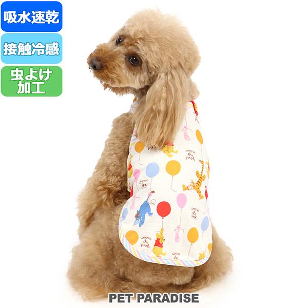 【PET PARADISE 寵物精品】 DISNEY POOH 氣球滿版涼感背心(3S/DSS/SS/DS/S) 寵物衣服