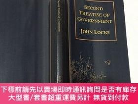 二手書博民逛書店The罕見Second Treatise of Government 政府論Y23200 John Locke