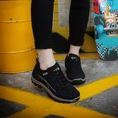 登山鞋 CAIDAI登山鞋防滑徒步鞋女戶外運動鞋耐磨爬山輕便防水旅游鞋  『魔法鞋櫃』
