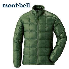 丹大戶外 日本【mont-bell】Superior 男款羽絨夾克 1101466KHGN 卡綠