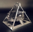3D拼圖 立體金屬維京海盜船diy手工拼...