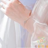 日式輕奢異地戀925銀月光森林手鏈女森系月光石【奇妙商鋪】
