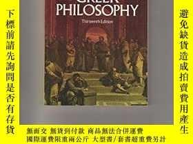 二手書博民逛書店Outlines罕見Of The History Of Greek PhilosophyY256260 Edu
