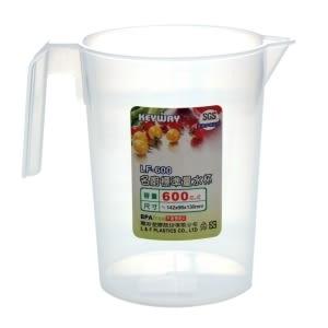 【好市吉居家生活】嚴選聯府KEYWAY~LF-600 名廚標準600CC量水杯 水杯 水壺