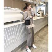 初春裝新款時尚洋氣減齡學生氣質衛衣配休閒闊腿褲兩件套裝女 Cocoa