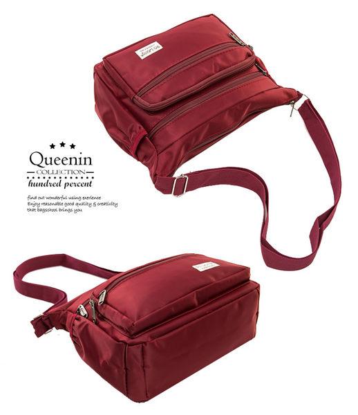 DF Queenin - 日系休閒尼龍斜側背包