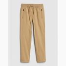 Gap男童彈力舒適鬆緊腰休閒褲540260-新英格蘭卡其