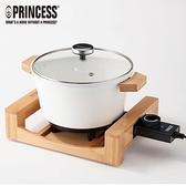 【PRINCESS 荷蘭公主】多功能陶瓷料理鍋/白 173030 (加贈專用油炸籃)
