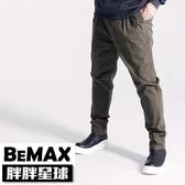 【胖胖星球】中大尺碼‧時尚打摺造型休閒褲 38~48腰‧加大【98015】