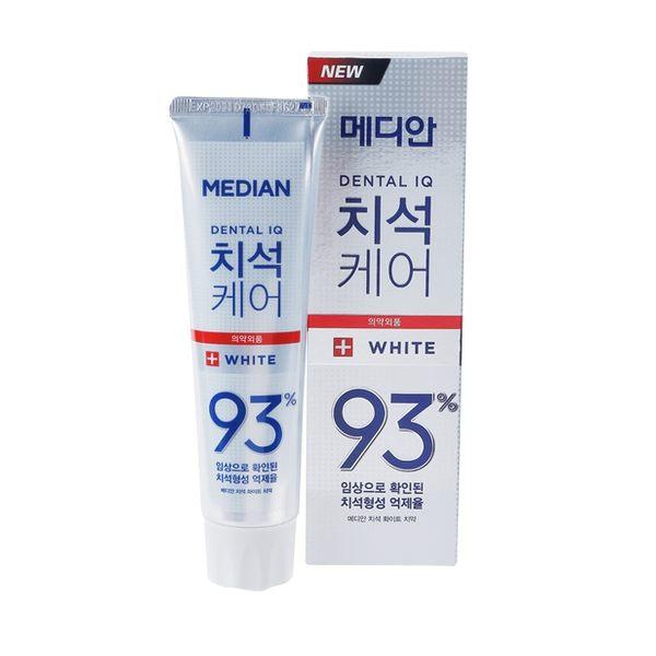 韓國 Median 麥迪安 93%強效淨白去垢牙膏(升級版) 120g ◆86小舖 ◆