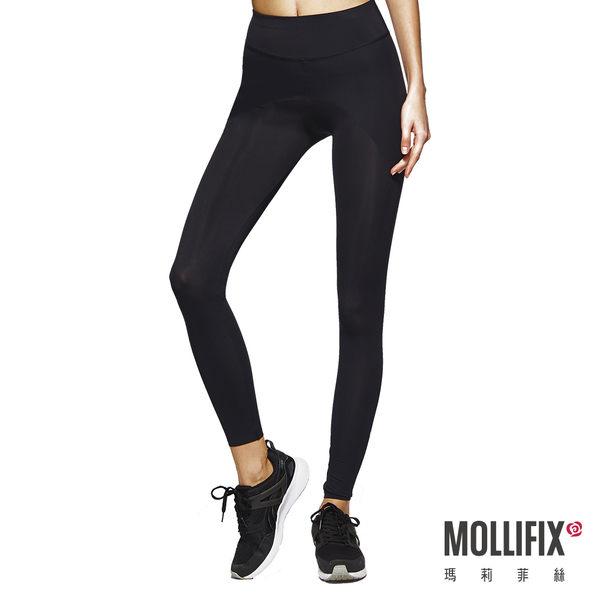 Mollifix瑪莉菲絲 MoveFree 掰掰馬鞍動塑褲 (黑)  婆媳狂推 秒殺動塑褲