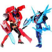 奧迪雙鑽鎧甲勇士5獵鎧可動人偶模型玩具套裝馬帥鷹帥變形機器人