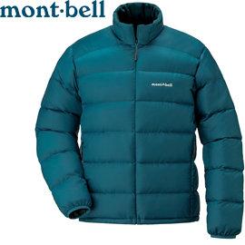 丹大戶外 日本【mont-bell】Alpine 男款羽絨外套 800Fill高規格羽絨/保暖超輕量 1101428-DKMA 汽油藍