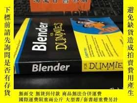 二手書博民逛書店Blender罕見For Dummies 含光盤Y1767 Ja