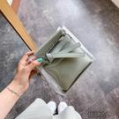 透明水桶小包包新款潮洋氣夏單肩包質感果凍百搭斜背包包【全館免運】