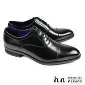 【hiromichi nakano】橫飾牛津紳士鞋 黑色(H409-BL)