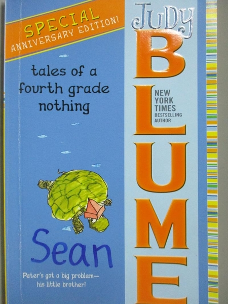 【書寶二手書T8/原文小說_MCH】Tales of a Fourth Grade Nothing_Blume, Jud