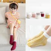 兒童襪子純棉秋冬新款1-3歲寶寶公主花邊襪中筒襪  萬客居