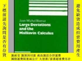 二手書博民逛書店Large罕見Deviations And The Malliavin Calculus (progress In