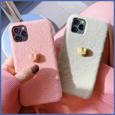 蘋果 iPhone 11 Pro Max XR XS MAX iX i8+ i7+ 冬天萌貓爪 手機殼 毛絨 保護殼