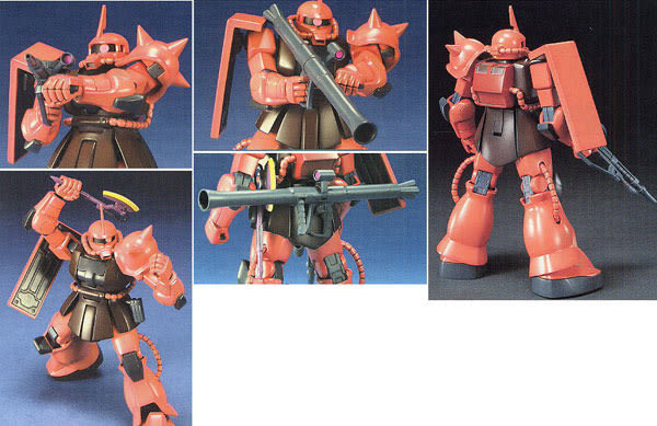 鋼彈模型 HG 1/144 MS-06S ZAKU II 夏亞專用 薩克Ⅱ TOYeGO 玩具e哥