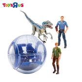 玩具反斗城 侏羅紀世界2-水晶玻璃遊園車