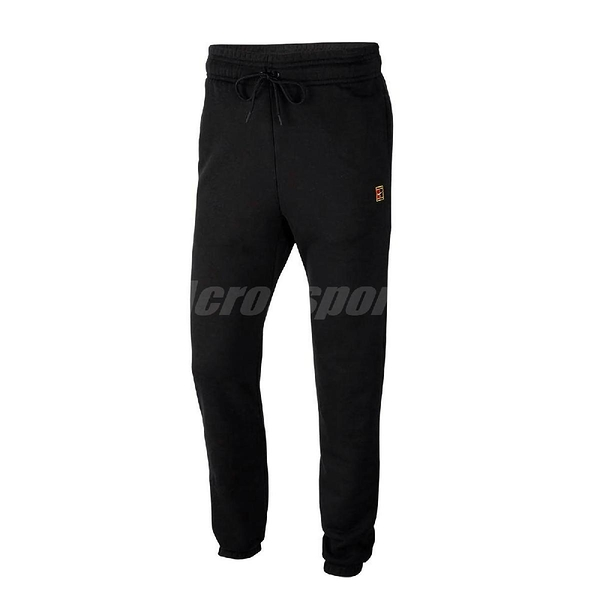 Nike 長褲 Court Fleece Tennis Trousers 黑 男款 縮口褲 運動休閒 【ACS】 CK2179-010