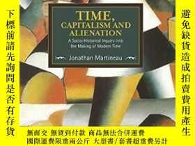 二手書博民逛書店Time,罕見Capitalism, And Alienatio