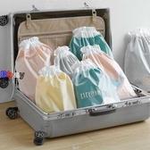 【貝貝】收納袋 抽繩 束口袋 拉繩 整理包 打包袋
