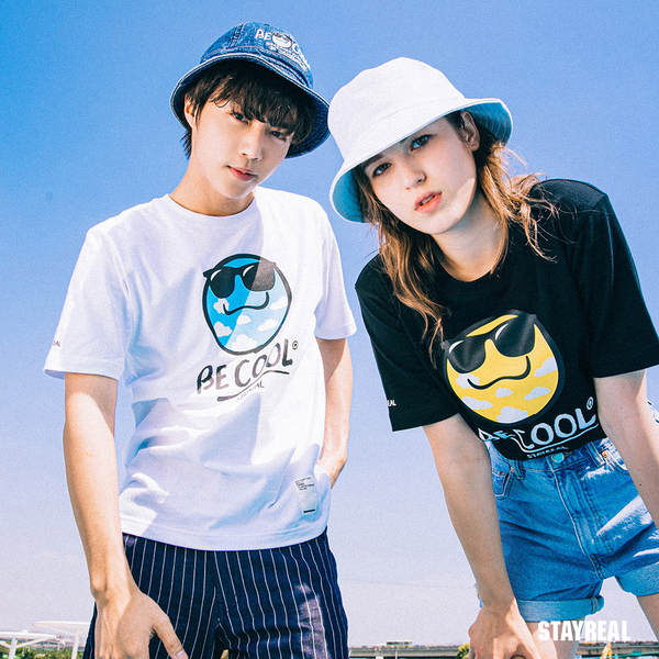 STAYREAL BE COOL爽爽T