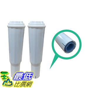 [106美國直購] 2 High Quality Jura Clearyl White Water Filters, Premium Filtrartion, Fits Coffee Machines Z5, Z6, E8