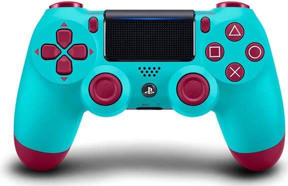 PS4 新無線控制器(莓果藍)