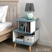 床頭櫃 簡易床頭櫃床邊收納小櫃子簡約現代臥室床頭迷你儲物櫃多功能YYP【618特惠】