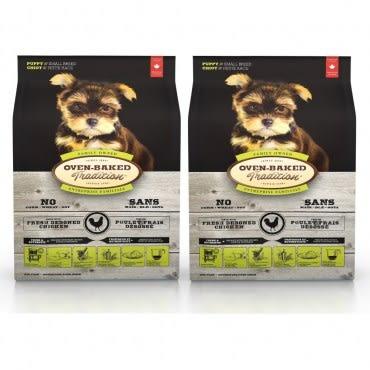 【Oven-Baked】烘焙客 幼犬雞肉配方 小顆粒 12.5磅 X 2包