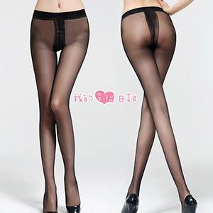 酷愛熱潮‧包芯絲T檔絲襪(黑)性感絲襪網襪子情趣服裝鏤空襪薄紗蕾絲網紗美腿透視透膚熱銷