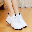 老爹鞋 秋季小白鞋老爹百搭運動初中學生板鞋女跑步旅游球鞋韓版 生活主義