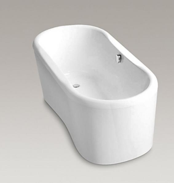 【麗室衛浴】 美國KOHLER  Sapphire™ 獨立式浴缸 K-18262T  166*75*61CM
