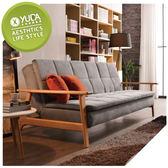沙發【YUDA】雷克斯 沙發床(可拆洗.附抱枕2個)/沙發椅 J9M 711-3