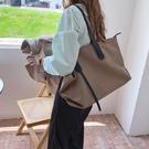 防水百搭大容量女包大包 學生設計手提包 女款單肩斜挎包 休閑旅行女生托特包 女款簡約托特包