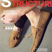 豆豆鞋 豆豆鞋夏季韓版潮流新款百搭個性社會小伙一腳蹬休閒懶人男鞋   草莓妞妞