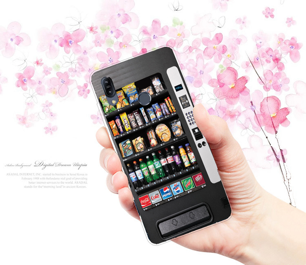 [ZB631KL 軟殼] ASUS ZenFone Max Pro (M2) X01BDA 手機殼 保護套 外殼 自動販賣機